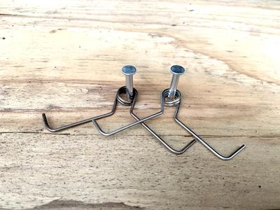 ジャンプ踏板専用金具 10セット(φ19・φ12㎝共通)
