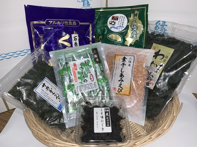 三陸・石巻海藻セット【冷蔵】