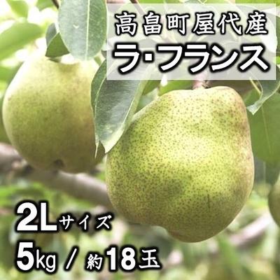 【予約販売】高畠町屋代産 ラ・フランス 2L 3kg(約11玉)