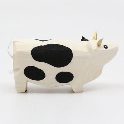 笹野一刀彫 「干支・丑(うし) 乳牛バージョン」