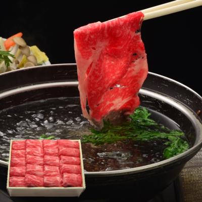 米沢牛モモしゃぶしゃぶ用 500g【冷蔵】