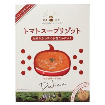 【My Dishこんにゃく】トマトスープリゾット