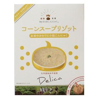 【My Dishこんにゃく】コーンスープリゾット