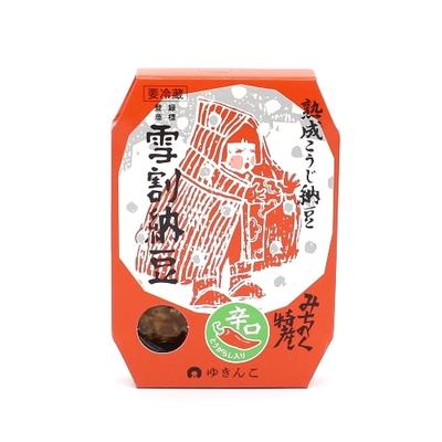 雪割納豆・辛口150g【冷蔵】
