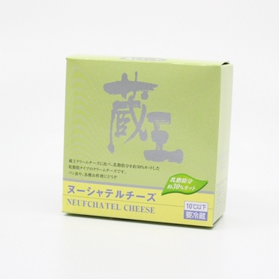 【蔵王クリームチーズ】ヌーシャテルチーズ 120g【冷蔵】