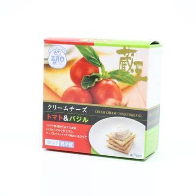 【蔵王クリームチーズ】トマト&バジル 120g【冷蔵】