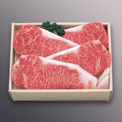 米沢牛サーロインステーキギフト【冷蔵】