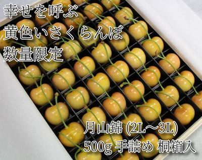 【MS-2】月山錦(2L~3L) 500g 手詰め桐箱入