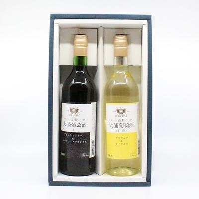 大浦葡萄酒 赤・白詰合せ