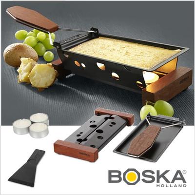 BOSKA社のチーズラクレットセット 【パーティークレット TO GO】