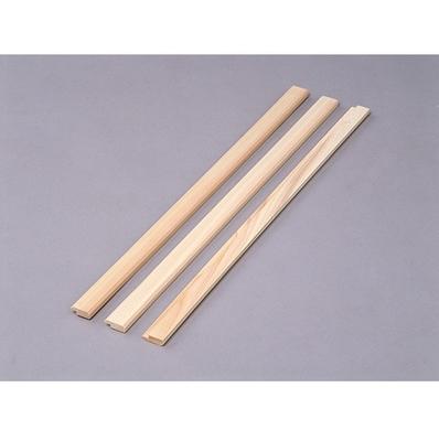 簡単リフォーム 『木かべ用見切り』 幅3cmx長さ60cm (3本組)