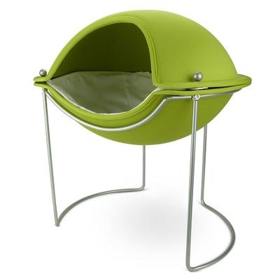 N.Y.生まれのスタイリッシュなキャット用ベッド【hepper】Pod Bed/グリーン