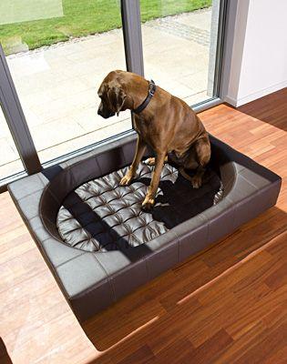大型犬用ベッド【Cube XL ・イミテーションレザー】