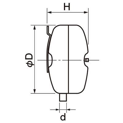 EN-18/リフレックス密閉膨張タンク/冷暖房・空調用(鋼板製)