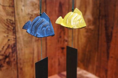 【期間限定値下げ】南部鉄 風鈴 熱帯魚 癒しの音色♪ 岩手水沢