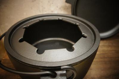 限定 改良型 ダッチオーブンOIJIN   21cm   IH対応 リング付