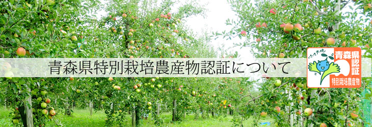 青森県特別栽培農産物認証取得