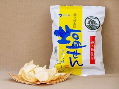 塩せんべい(レモン) 45g入