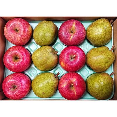 りんご&ラ・フランス詰め合わせ 約3kg入12玉(各6個)入り