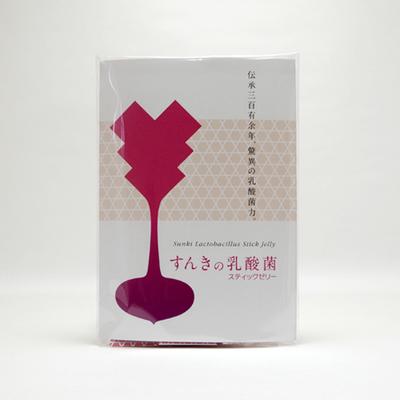 すんきの乳酸菌スティックゼリー (7本入)