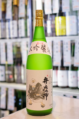 墨廼江 大吟醸 弁慶岬 1.8L