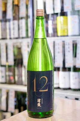 浦霞 純米吟醸 No.12 1.8L
