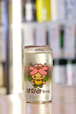 愛宕の松 特別純米 はなみちゃんカップ 180ml