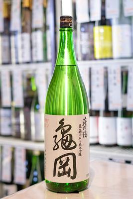 萩の鶴 中取り純米吟醸原酒 亀岡 1.8L