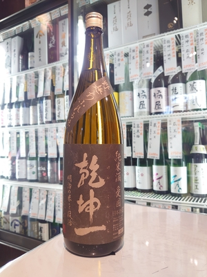 乾坤一 純米酒 愛国 1.8L