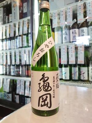 萩の鶴 中取り純米吟醸原酒 亀岡 ひやおろし 720ml