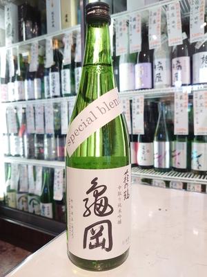 萩の鶴 中取り純米吟醸 亀岡 special blend 720ml