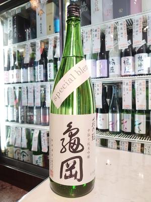 萩の鶴 中取り純米吟醸 亀岡 special blend 1.8L