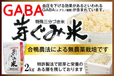 GABA芽ぐみ米(長崎県 ヒノヒカリ)【ながさき南部生産組合】