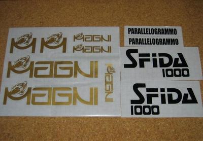 DECAL SET MAGNI SFIDA1000