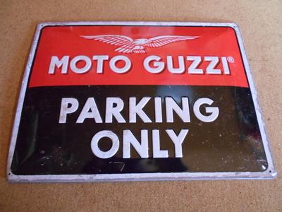 MOTO GUZZI PARKING ONLY