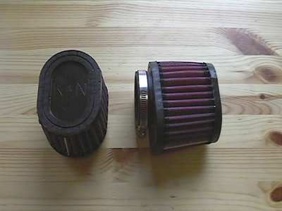 AIR FILTER K&N LM1.2.3.1000.1000S etc R+L SET