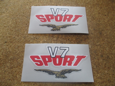 DECAL SIDE COVER DECAL V7SPORT R/H + L/H