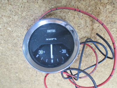 USED SMITHS AMPSメーター 52Φ