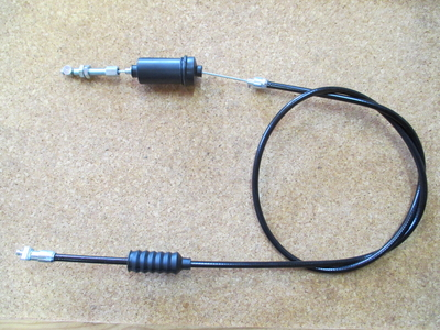 CLUTCH CABLE T3.T4.G5 etc WITH STOP SWITCH