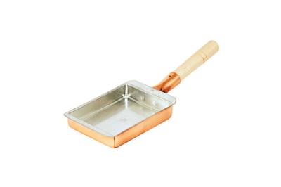 銅玉子焼器