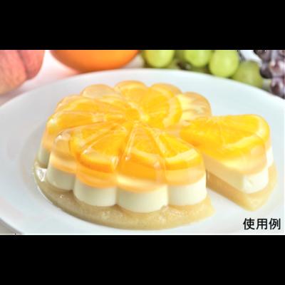 オレンジ&チーズケーキ