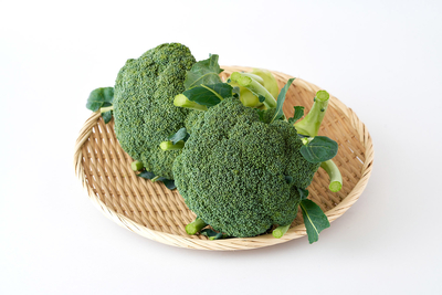 【期間商品】たっぷりの有機質肥料で育てたブロッコリー2個
