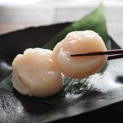 北海道産お刺身用ほたて貝柱 約100g入り