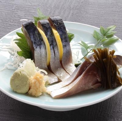 【旭鮨総本店の味】カット済み 寿司屋が作ったしめさば(金華さば使用)