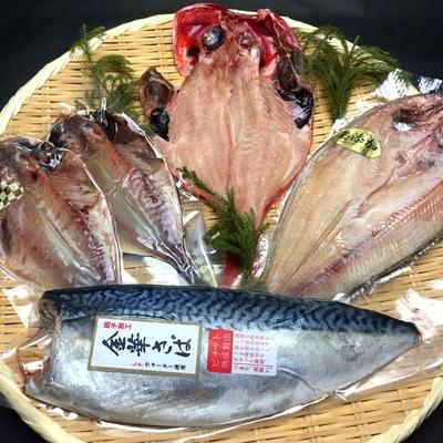 【干物セット】豊洲市場厳選!海神光脂の干物セットA