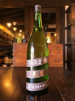 睡龍 生酛純米吟醸 焦茶 1800ml