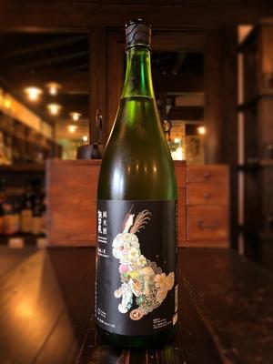 諏訪泉 純米酒 うさぎラベル 熟成二夏 1800ml