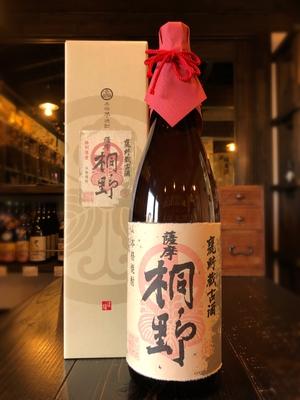 薩摩桐野 甕貯蔵古酒 芋焼酎 25度 1800ml
