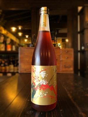 月の井 恋梅 紅 日本酒仕込み梅酒 720ml