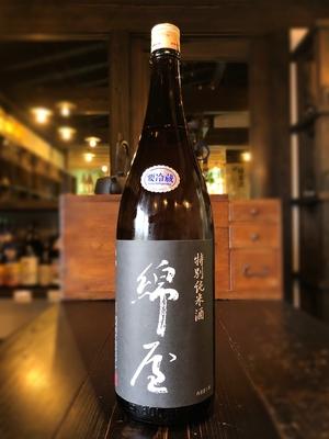 綿屋 特別純米酒 トヨニシキ 黒 1800ml